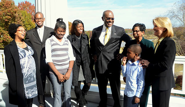 Herman-Cain-and-family