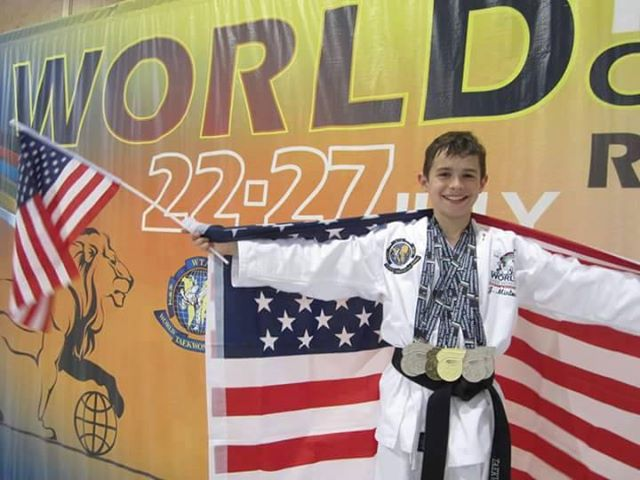 Jesse Minton win Gold - 2015